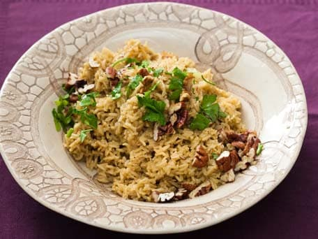 Brown Rice Pecan Pilaf
