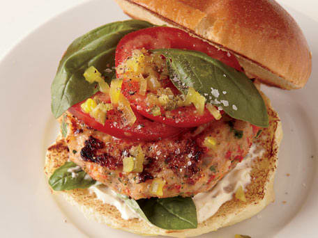 Grilled or Broiled Shrimp Burgers