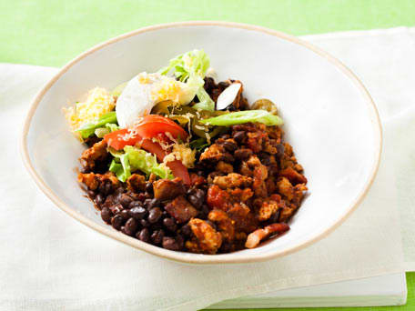 Black Bean Chili for a Crowd