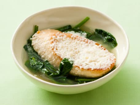 Parmesan and Spinach Soup