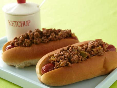 Hot & Smoky Chili Dogs