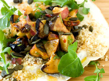 Roasted Sweet Potato and Quinoa Tortilla