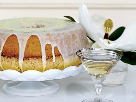 Lemon-and-Orange-Glazed Pound Cake