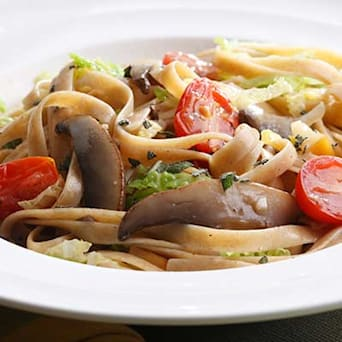 Image of Alpine Mushroom Pasta, Kitchen Daily