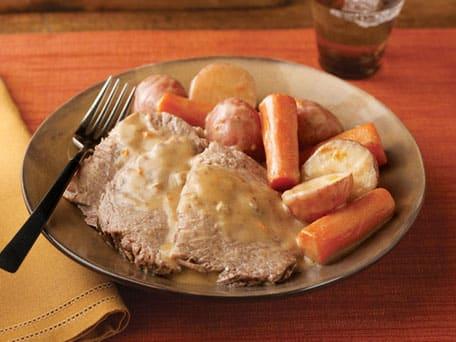 Slow Cooker Savory Pot Roast