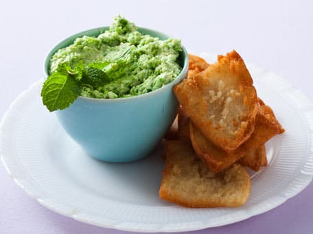 Pea and Silken Tofu Dip