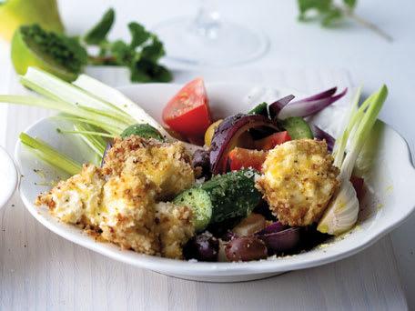 New-Style Greek Salad