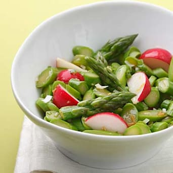 Image of Asparagus & Radish Salad, Kitchen Daily
