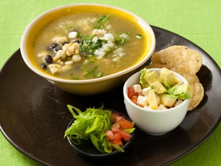 Green and Black Bean Pork Posole