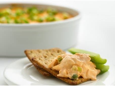 Healthified Buffalo Chicken Dip