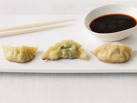 Watercress-and-Tofu Dumplings