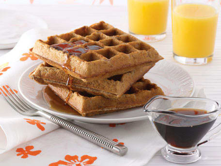 Gluten-Free Banana Bread Waffles