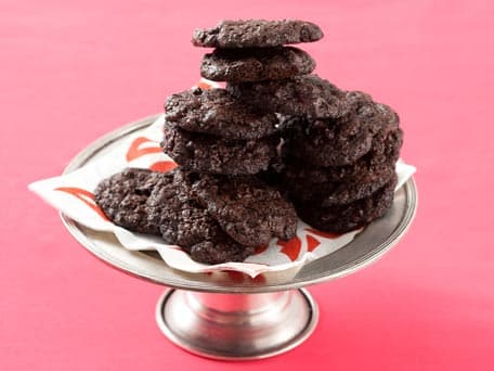 Chocolate-Chocolate Cherry Cookies