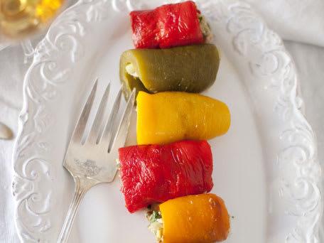 Sicilian Rolled Peppers (Peperoni Arrotolati e Ripieni)