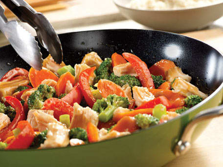 Swanson® Quick Chicken & Vegetable Stir-Fry