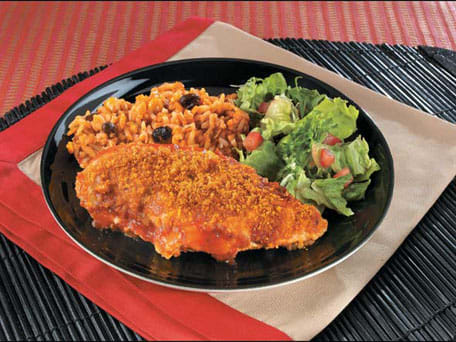 Cheesy Southwestern Style Chicken with Rice