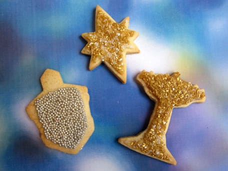 Basic Sugar Cookies with Glaze