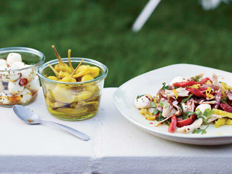 Image of Antipasto Chicken Salad, Kitchen Daily