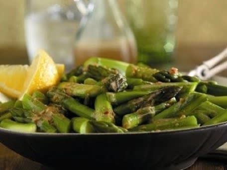 Image of Asparagus With Sesame-ginger Sauce, Kitchen Daily