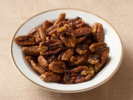 Butter-Roasted Pecans with Thyme and Cayenne