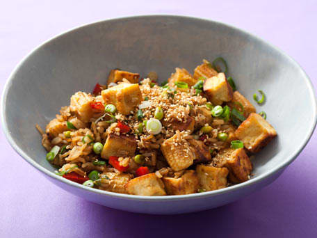 Tofu, Veggie and Sesame Fried Rice