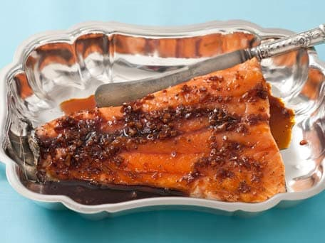 Soy and Ginger Glazed Salmon