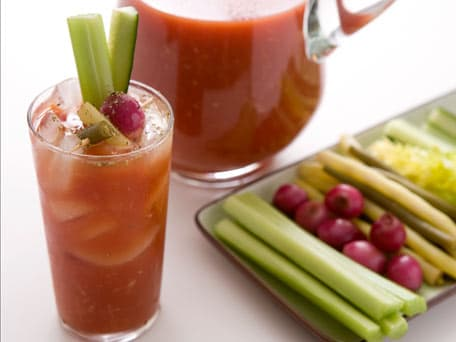 Gail's Spicy Bloody Mary with Pickled Vegetables