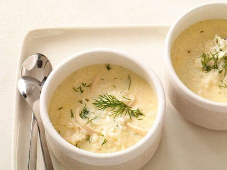 Image of Avgolemono Chicken Soup With Rice, Kitchen Daily