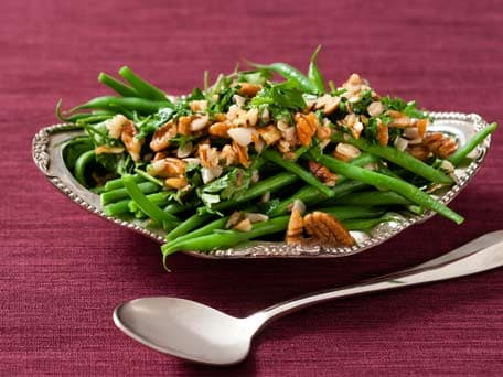 Green Beans with Pecan Brown Butter