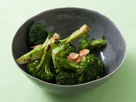 Sizzled Garlic Broccoli