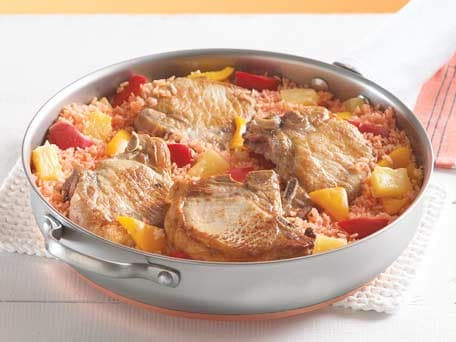 Image of Aloha Pork Chop Skillet, Kitchen Daily