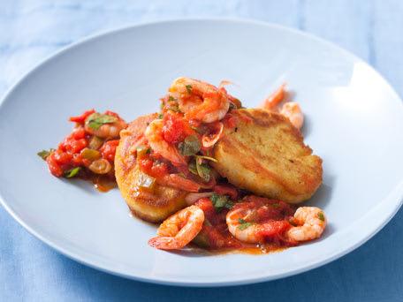 Shrimp Creole Polenta