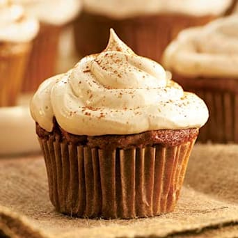 Image of Apple Cupcakes With Cinnamon-marshmallow Frosting, Kitchen Daily
