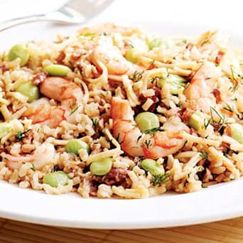 Image of Rice Pilaf With Shrimp, Kitchen Daily