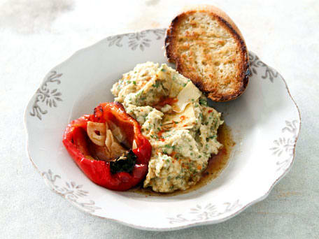 Warm Chickpea-and-Artichoke Pate