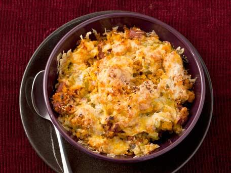 Southwest Poblano and Chorizo Cornbread Stuffing