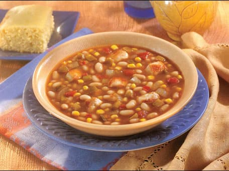 Slow Cooked Southwestern Chicken & White Bean Soup