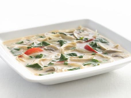 Healthified Thai Chicken Soup
