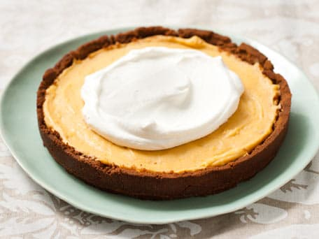 Pumpkin Mousse Tart