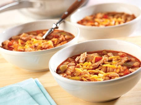 Easy Chicken Chili with White Beans
