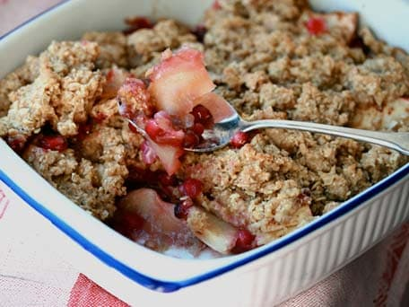 Image of Apple Pomegranate Crumble, Kitchen Daily
