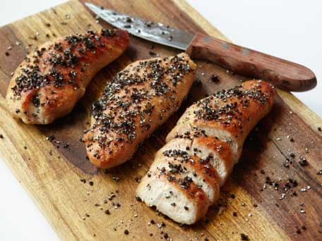 Peppercorn-crusted Turkey Tenderloin