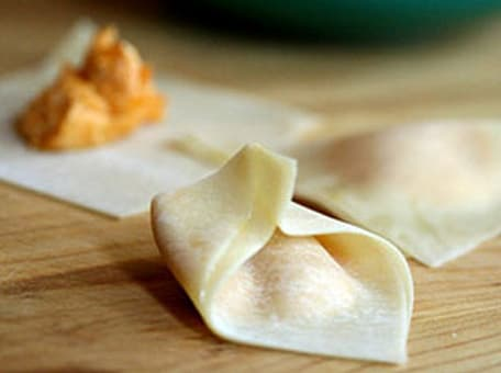 Pumpkin Tortellini with Sage