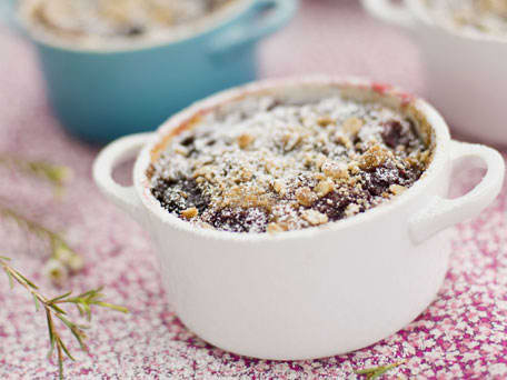 Bing Cherry Breakfast Clafoutis