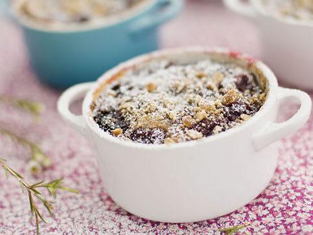 Bing Cherry Breakfast Clafoutis
