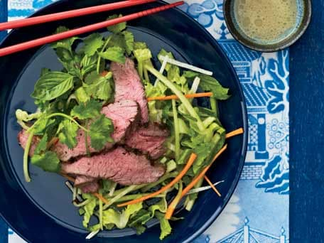 Grilled Lamb Salad with Cumin Vinaigrette
