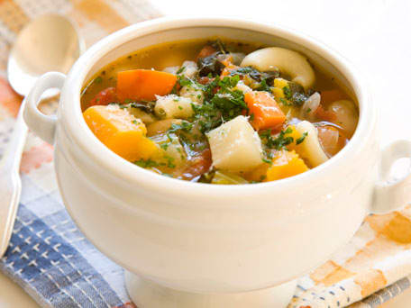 Image of Autumn Minestrone Soup, Kitchen Daily