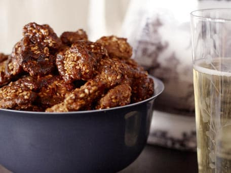Sweet-and-Spicy Sesame Walnuts