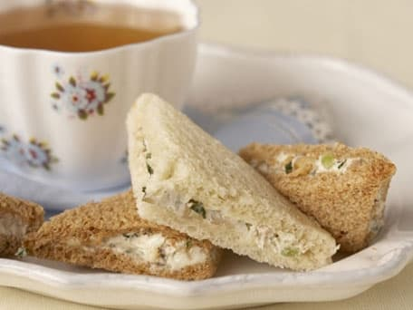 Walnut Tea Sandwiches inspired by <i>Jane Eyre</i>