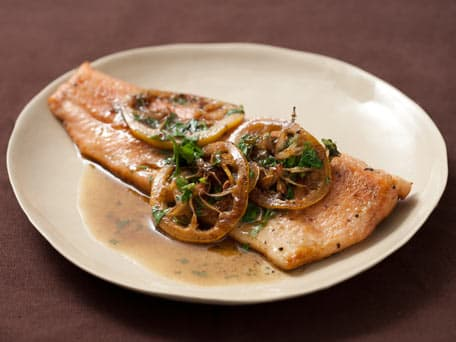 Thyme and Lemon Pan-Fried Trout